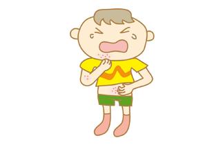 アトピー性皮膚炎のイメージ